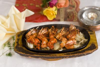 tandoori king prawn nepalese gurkha restaurant